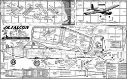 Jr Falcon original model airplane plan