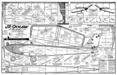 Jr Skylark model airplane plan