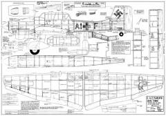 Ju-87 Stuka clean model airplane plan