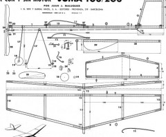 Juma 103/203 model airplane plan