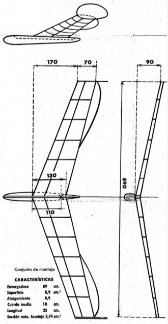 JUma 104 model airplane plan