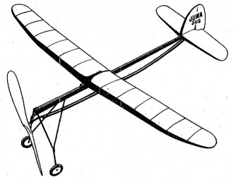 Juma 202 model airplane plan