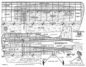 Jumbo CL MAN-56 model airplane plan