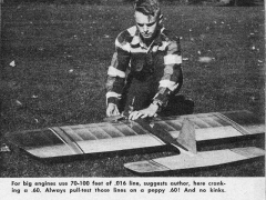 Jumbo model airplane plan