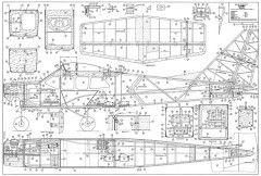 Jumbo Robbe model airplane plan