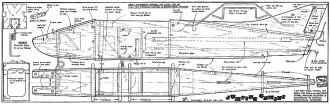 Jumping Gemini RCME6305 model airplane plan