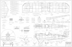 Junkers D-1 MMidkiff model airplane plan