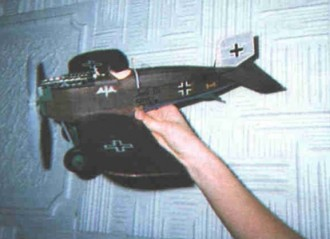 Junkers D.I model airplane plan