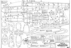 Ka-7 Rhonadler Robbe model airplane plan