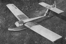 Kacer Donald model airplane plan