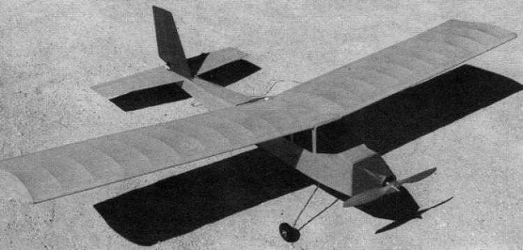 Kanarek model airplane plan