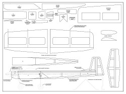 Kaos 1S Micro model airplane plan