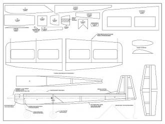 Kaos 1S Micro model airplane plan