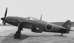 Kawasaki Ki-61 model airplane plan