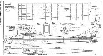 Kestrel-AAM-02-70 model airplane plan