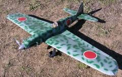 Ki-61 Kawasaki Tony model airplane plan
