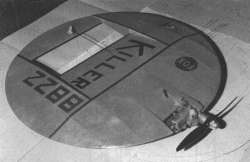 Killer Saucer model airplane plan