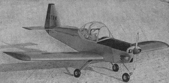 Kittiwake I model airplane plan