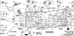 Knight Twister Imperial model airplane plan