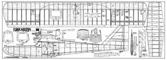 Kookaburra model airplane plan