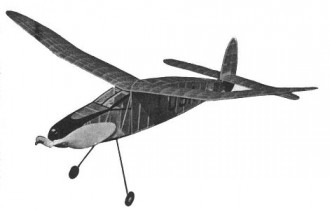 Kordas Wakefield Winner model airplane plan