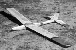 Kormoran model airplane plan