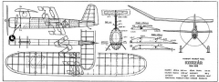 Korzar model airplane plan