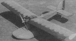 Krasna Helena model airplane plan