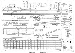 Kumul model airplane plan