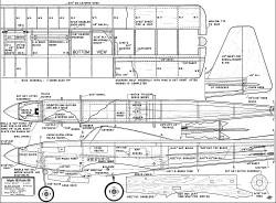 Kwik-Fli MkIII model airplane plan