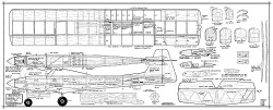 Kwik-Fli MkIII Willies model airplane plan