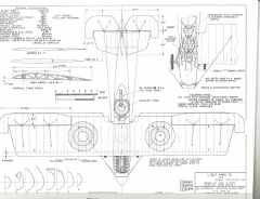LWF Model-G model airplane plan