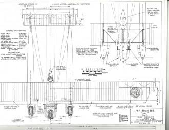 LWF Model H-1 model airplane plan