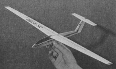 L 23 Blanik model airplane plan