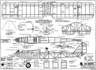 Lady Samantha RCM-1287 model airplane plan