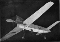 Auto-Stable Canard model airplane plan