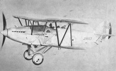 Hawker Hart model airplane plan