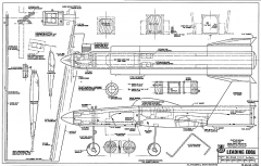 Leading Edge  RCM-1059 model airplane plan