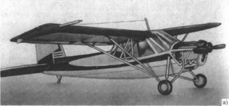 Leningradec model airplane plan