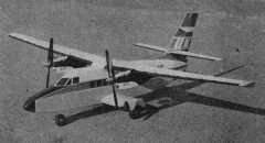 Let L-410 Turbolet model airplane plan