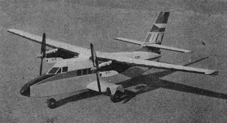 Let L-410 Turbolet model airplane plan