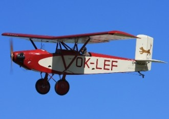 Letov S-239 model airplane plan