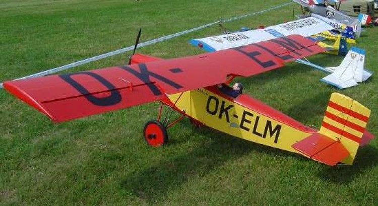 Letov S 39 model airplane plan