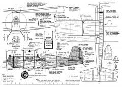 Lil Beau Bipe model airplane plan