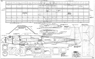 Lil Foiler model airplane plan