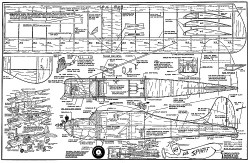 Lil Spirit-Consolidated Models model airplane plan