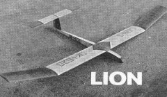 Lion model airplane plan