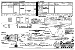 Little Mediator RCM 713 model airplane plan