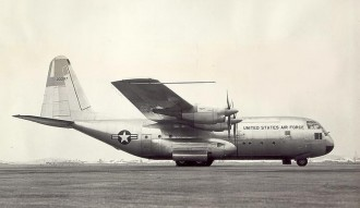 Lockheed C130 Hercules model airplane plan