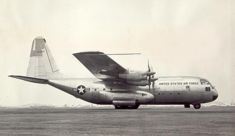 Lockheed C130 Hercules model airplane plan
